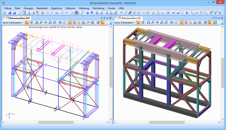 FEM Stahlkonstruktion
