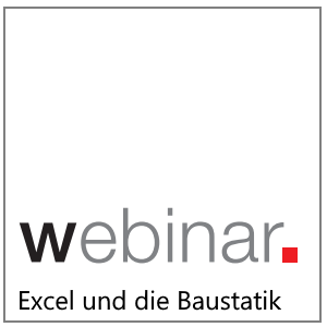Webinar:Arbeiten mit Baustatik und Excel