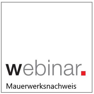 Webinar:Mauerwerksnachweis in der Baustatik